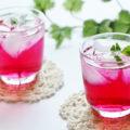 美容・健康・ダイエット、夏バテ防止におすすめ!「赤紫蘇コーディアル」のレシピ